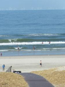 Schöne Wellen heute